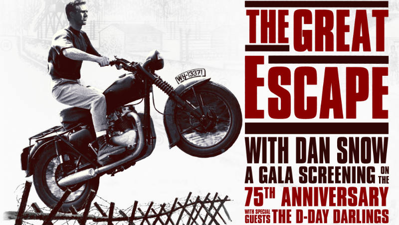 The Great Escape 75th Anniversary: Gala Screening with Dan Snow